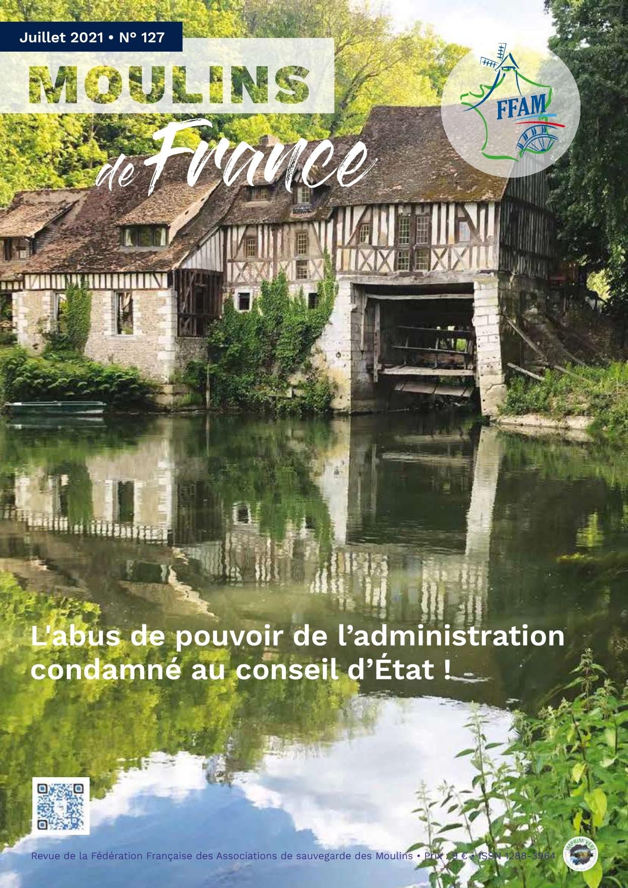Moulins de France N° 127 juillet 2021